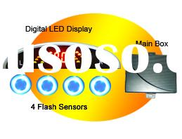 wireless reverse car sensor led display reversing sensor kit ,car led back up wireless system