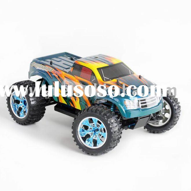 1/10th scale Electric monster truck TOP Brushless rc car