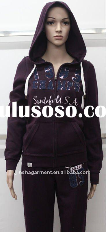2011 apparel women jogging suits