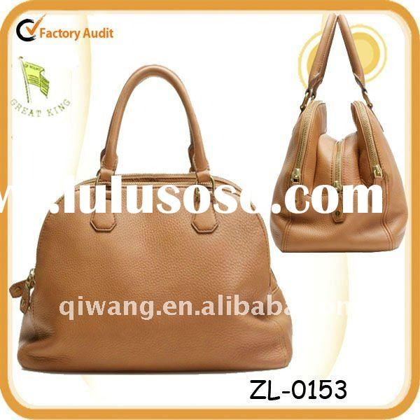 2012 Lady Fashion Leather Big Satchel Handbag Laptop Bag