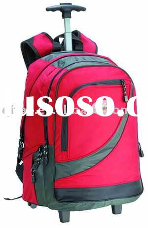 600D Trolley/wheeled school bag, school bag on wheels, Kids bag, Book bag, School backpack, Children