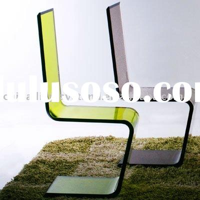 Acrylic chairs / plexiglass chair / acrylic living room furniture M202-2717