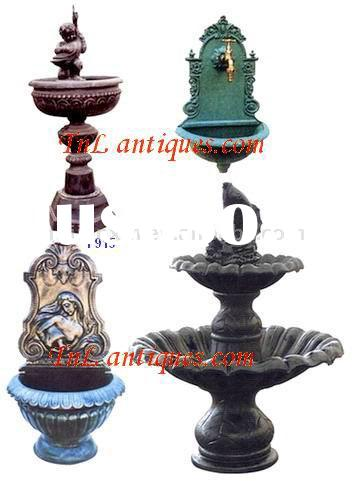 Cast Iron Fountains, Cast Iron Wall Foutains