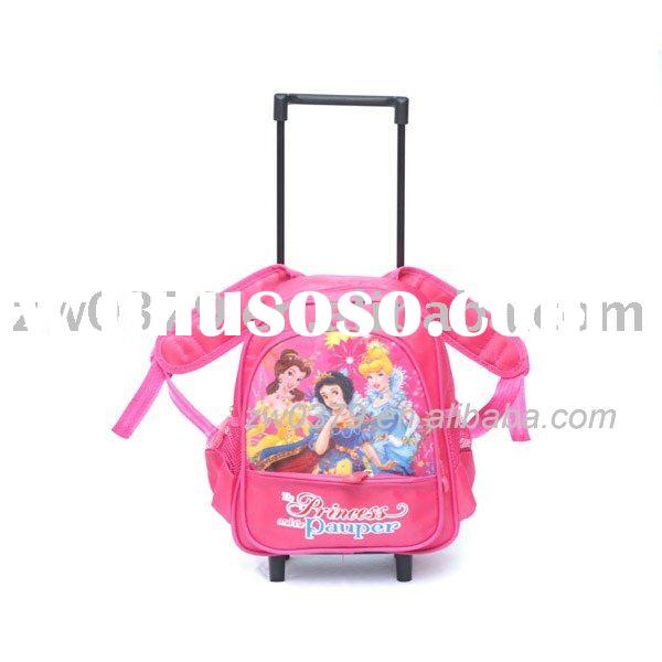 Cheap Princess School Bag Trolley Bags-LSB 05