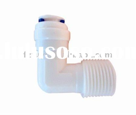 "FY015A( 1/4""tube OD&1/4""tube OD) 90 degree elbow quick connector ro system fittings"