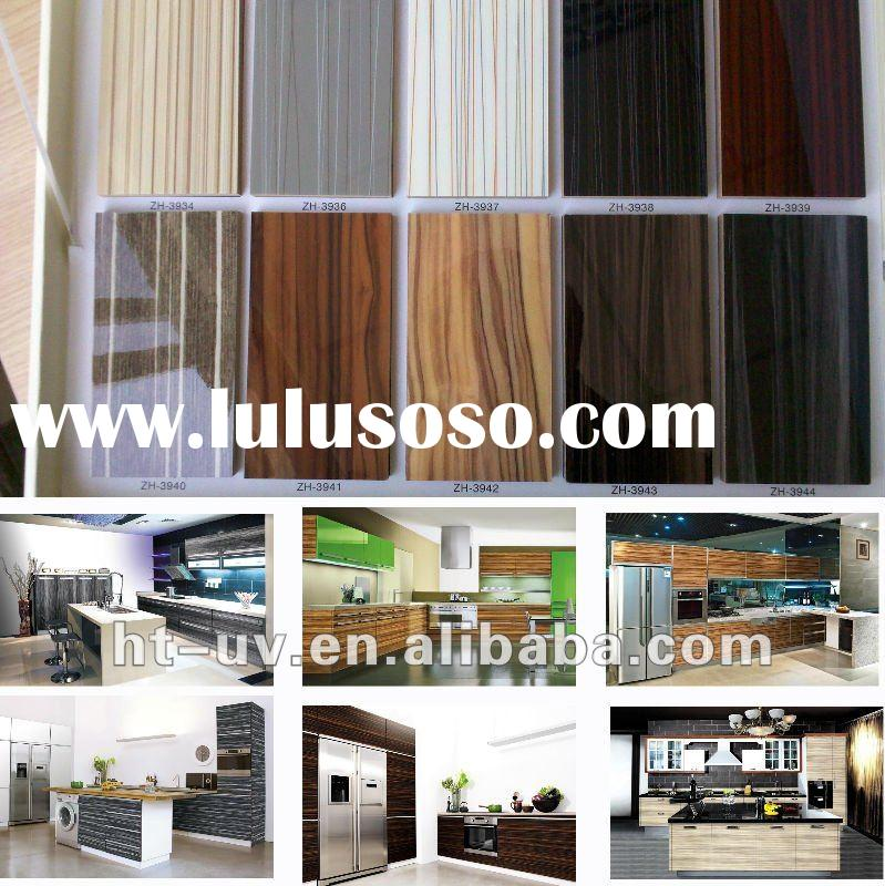 Kitchen Cabinet High Glossy MDF UV Paint