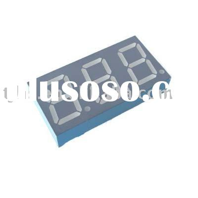 0.56 inch three digit 7 segment LED display