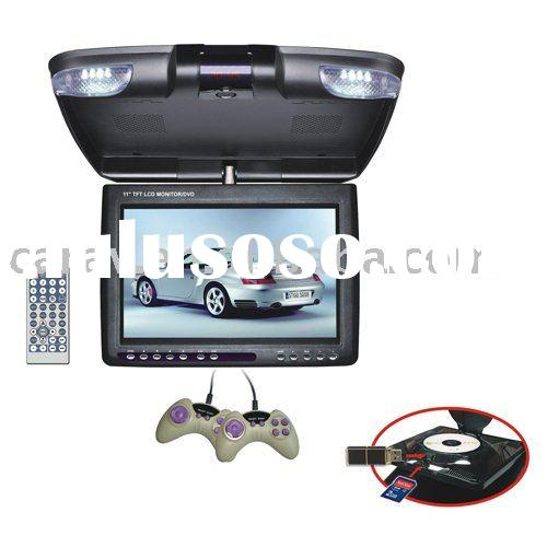 "11"" flip down TFT-LCD Active Matrix car DVD player"
