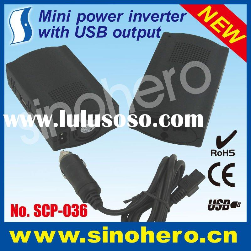 120W High quality dc to ac power inverter-car power converter