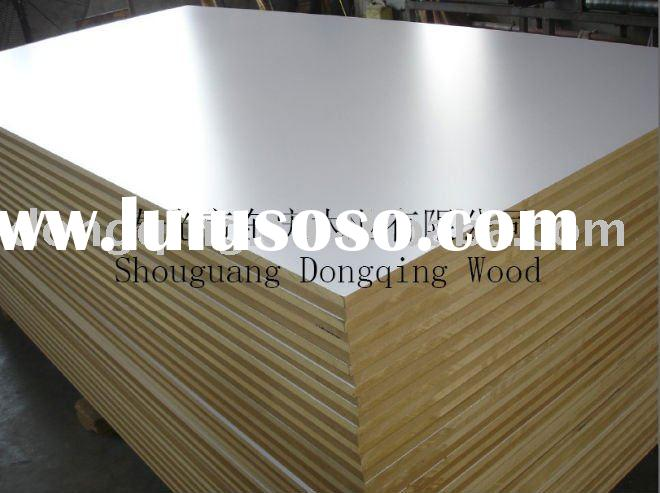 18mm white melamine laminated mdf board