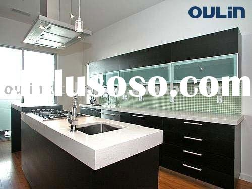 2011 Best-selling modern style solid wood kitchen cabinets(E1Standard)