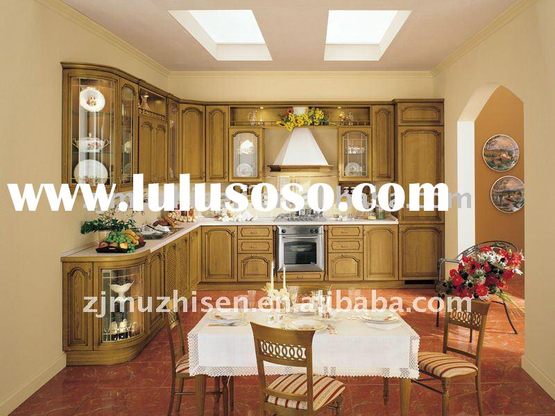 2011 New Designs Solid Wood Kitchen Cabinet