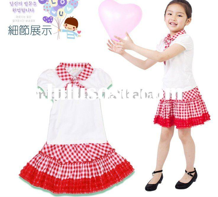 2011 beautiful children's clothing sets/2-10years old/wholesale,retail,OEM