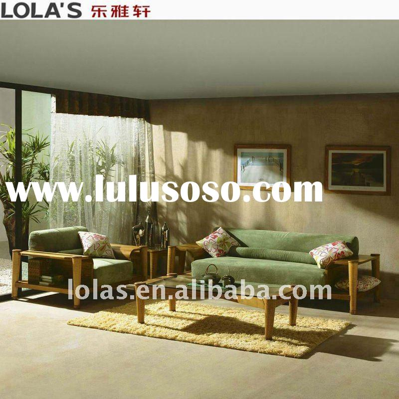 2011 best-sell wooden sofa set for living room furniture