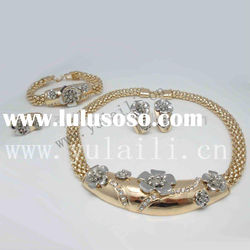 2011 fashion alloy jewelry sets with new design