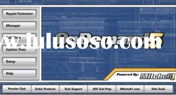 2011 latest version mitchell on demand auto repair software with top quality