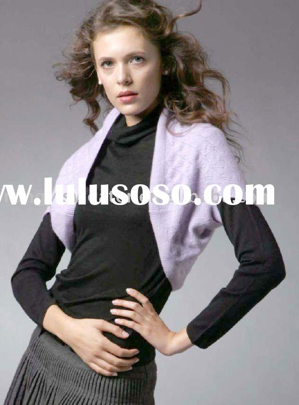2011 women's cashmere free style one size sweater shrug