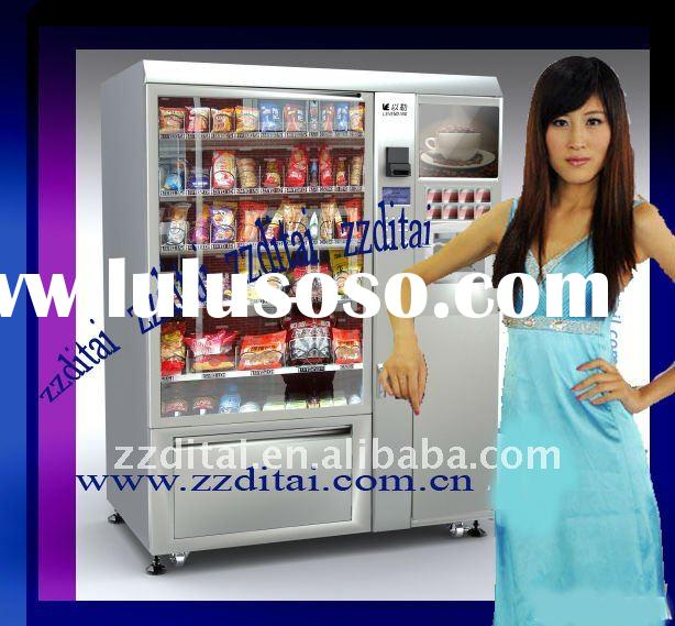 2012 Best selling advanced snack vending machine
