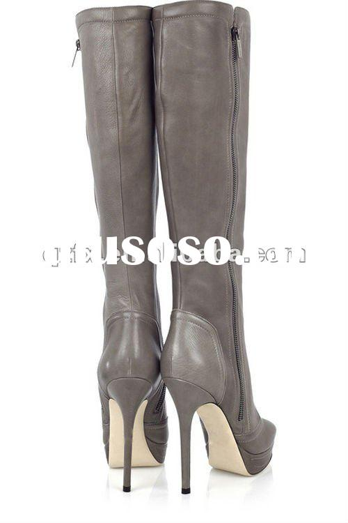 2012 Fashion ladies high heel boots(FX-LQB2029)