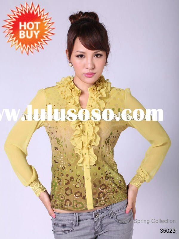2012,Knitted new clothing for women in Spring collection
