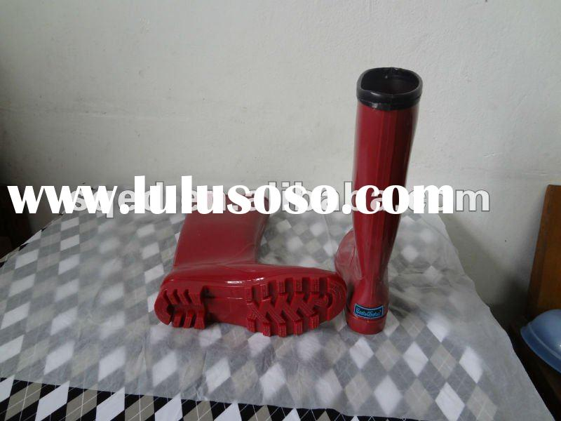 2012 fashion rain boots for women