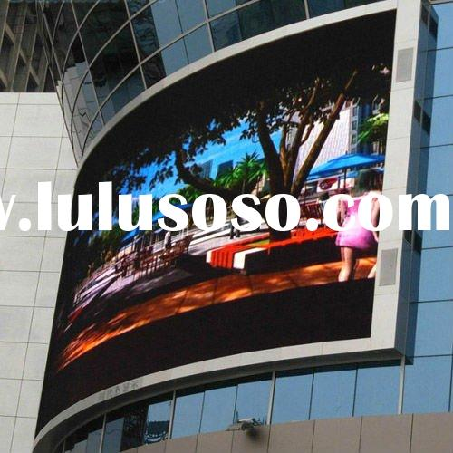 2012 new product p16 outdoor big led sign board,Led display board