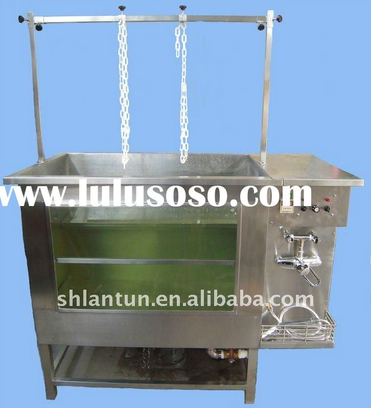 2012 new style Multifunction Stainless Steel Bubble dog Bath Tub