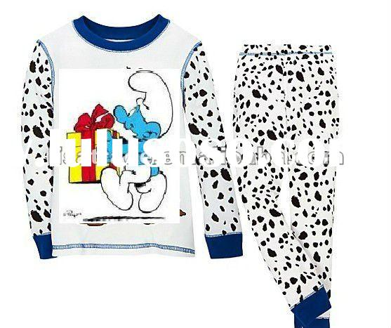 2012 newest kids pajamas, organic cotton for an easy comfortable fit