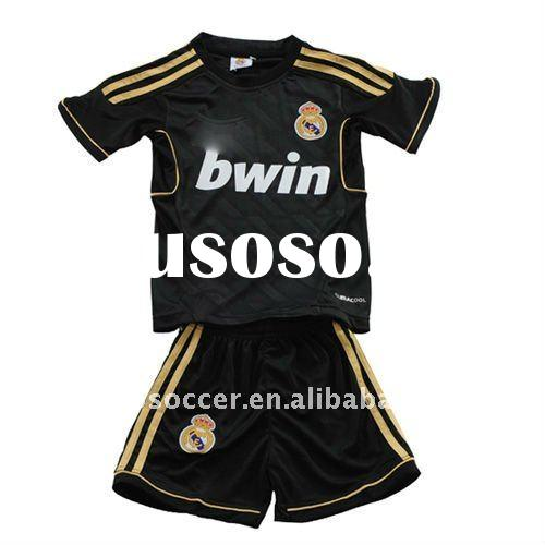 2012 real madrid away kids soccer shirt