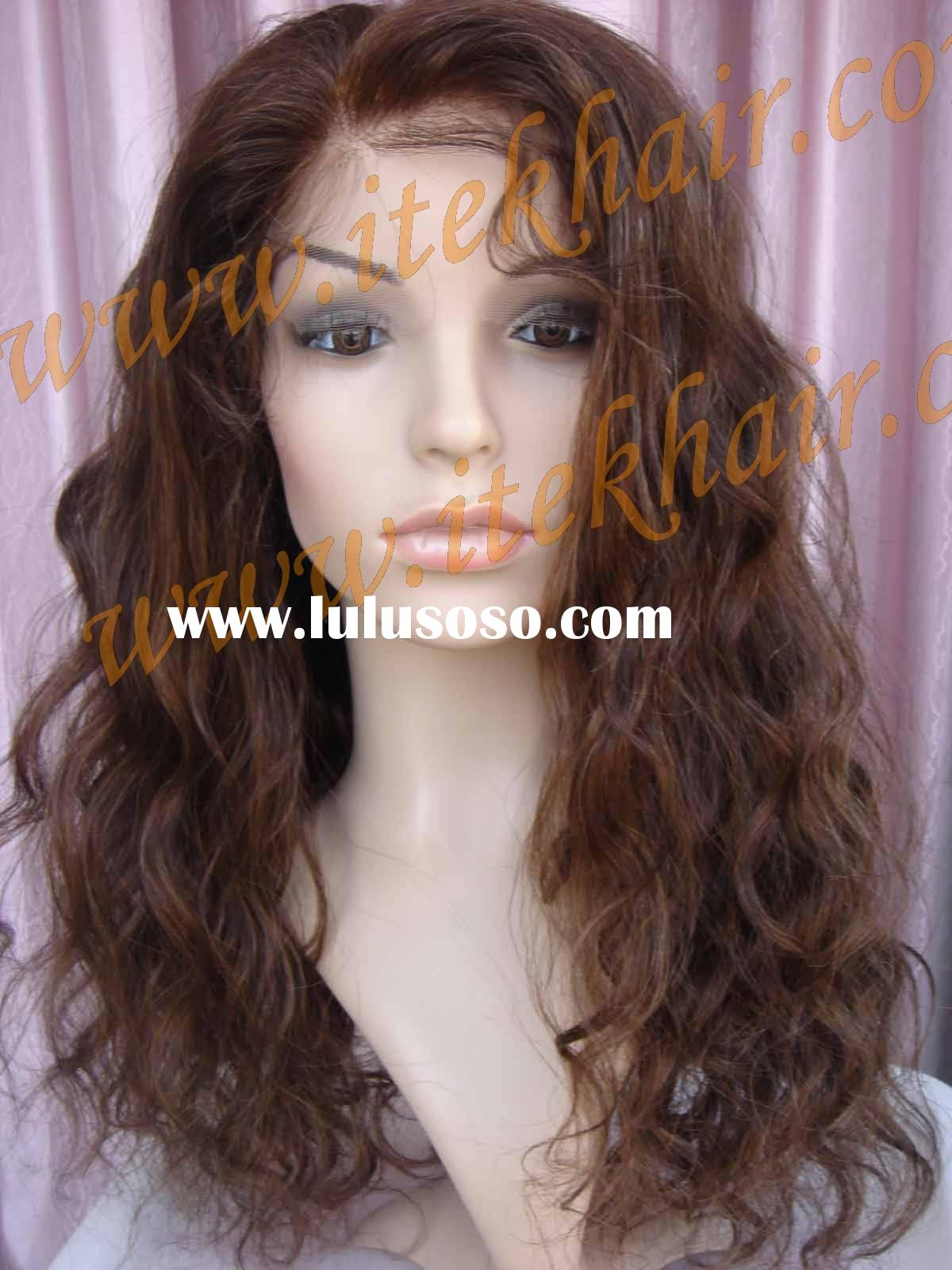 "20"" LOOSE CURL; more than 400pcs Indian remy hair full lace wigs in stock!No MOQ! PAYPAL ACCEPT"