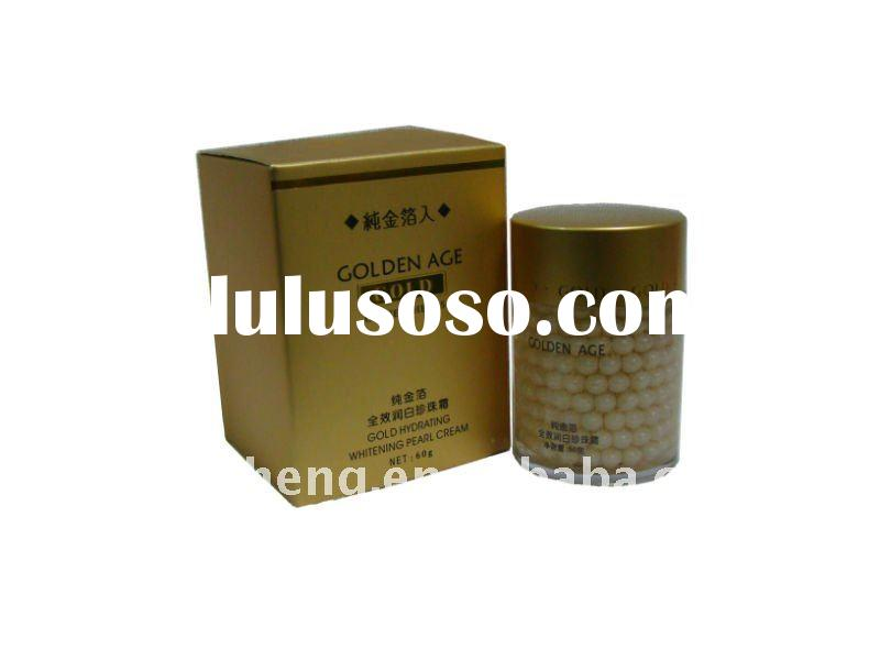 24K Pure gold foil Skin Anti-Wrinkle Whitening pearl cream