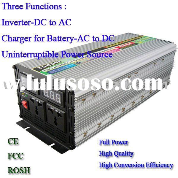 24V DC to 220V AC 3000W Modified inverter with charger and UPS functions