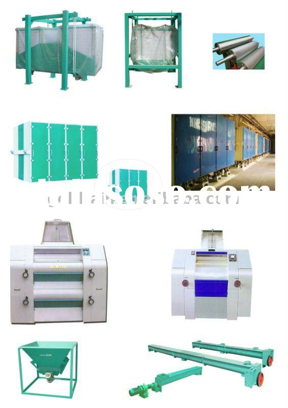 28-30T corn flakes production process