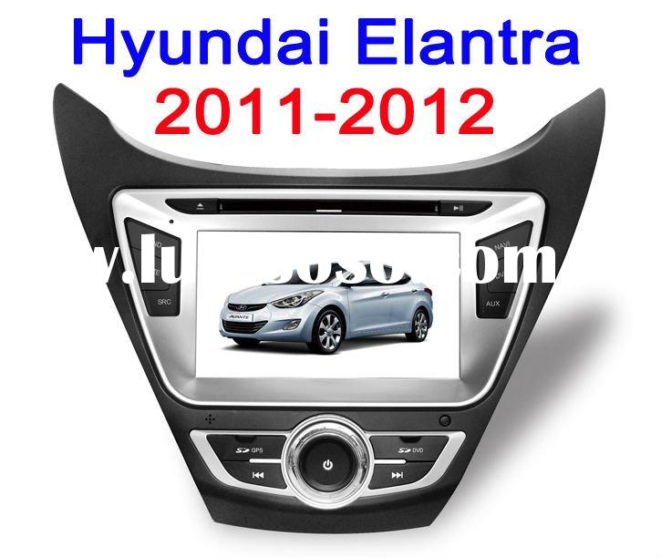 2-DIN HOT SELL Car DVD gps for hyundai elantra (2011)