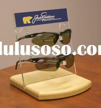 2-tier Clear Acrylic Eyeglasses Display Stand