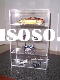 4 Tiers Acrylic Lockable Counter Model Car Display Cases