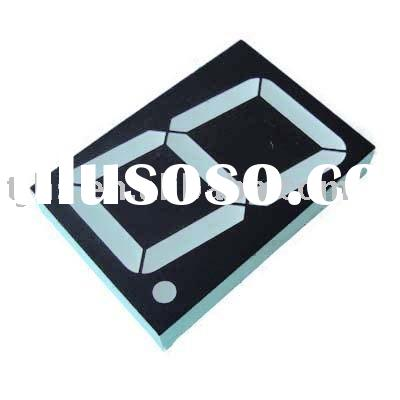 4 inch single digit seven segment LED display made in china