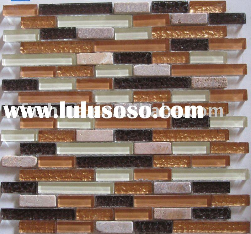 Mosaic tile tumbled mosaic tile tumbled manufacturers in page 1 for Tumbled glass tile