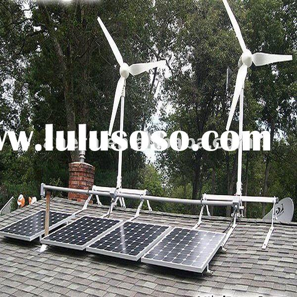 5kw wind solar power supply home system