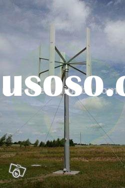 6kW Vertical Axis Wind-Power Turbine (VAWT) (comparision between VAWT and HAWT)