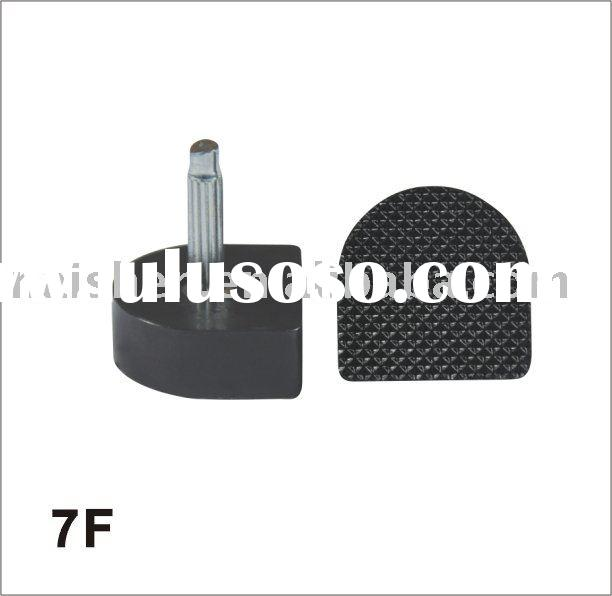 7F shoe heel tips made by PU, Comfortable wear and flexibility,less