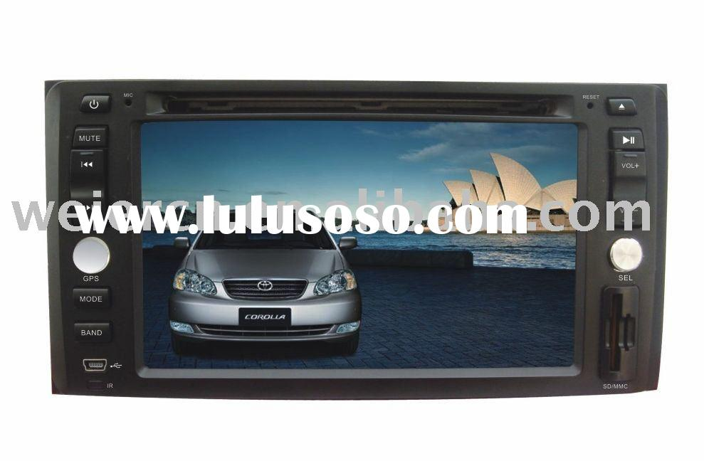 "7"" Old Corolla Special Car DVD Player with Gps, TV, Bluetooth."