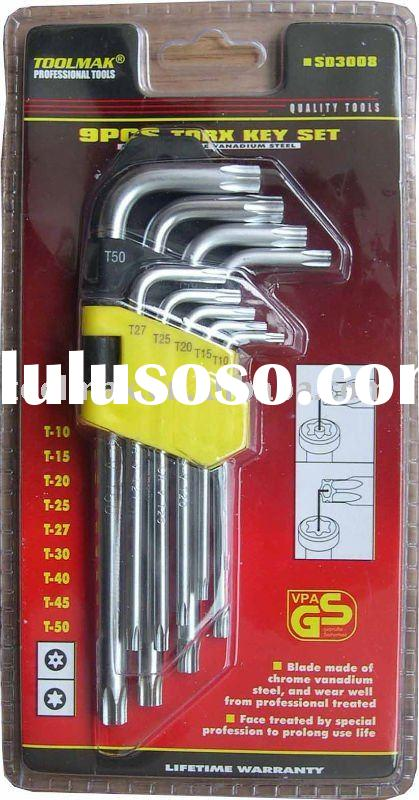 9PCS Torx Key Set