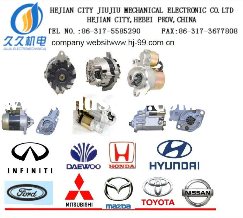 AUTO SPARE PARTS CAR STARTER AND ALTERNATOR MANUFACTURE