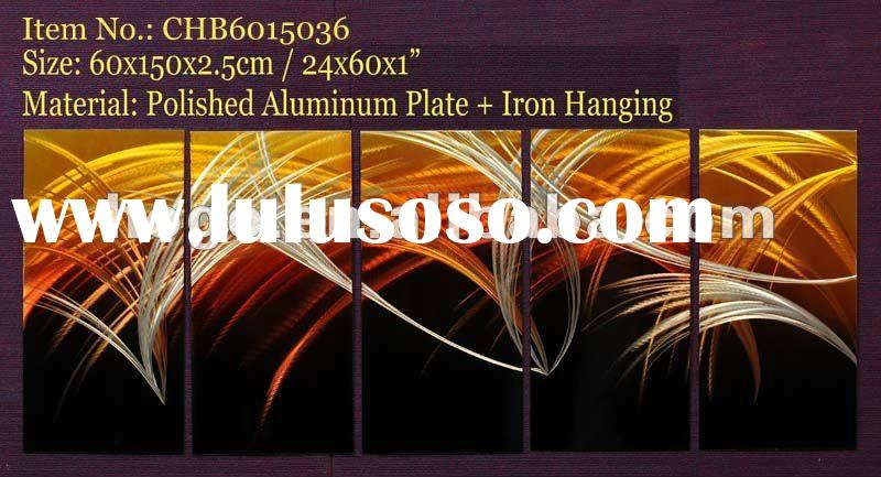 Abstract Modern Metal Wall Sculpture