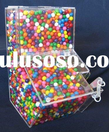 Acrylic Candy Box,Acrylic Candy Bin,Acrylic Candy Dispenser,Plastic Food Container,Acrylic Candy Hol