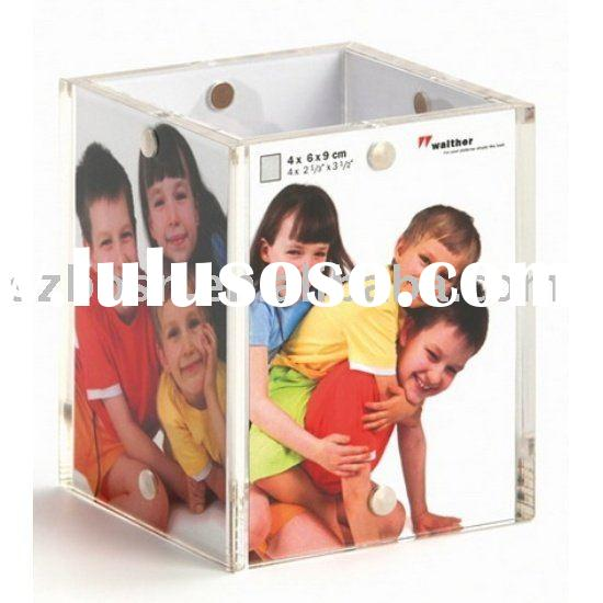 Acrylic Cube Photo Frame,Acrylic Picture Frame,Acrylic Frame Display