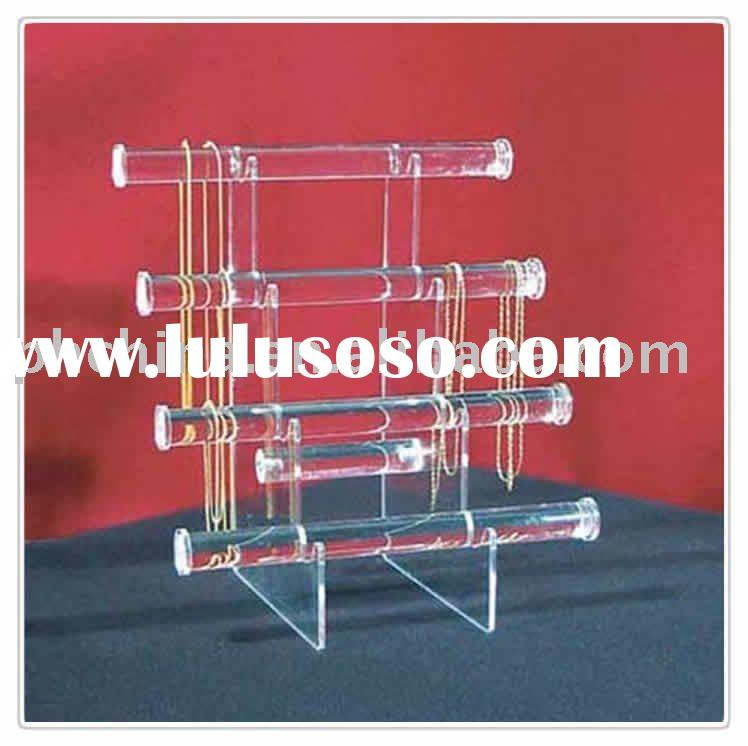 Acrylic Jewelry Display racks, acrylic jewellery display Stands LY-5557
