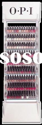 Acrylic Nail Polish Display Rack With Floor Stand