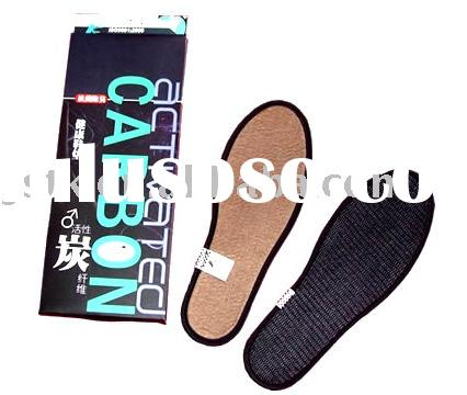 Activated carbon fiber insole